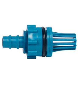 Hydro Flow Hydro Flow Fill & Drain Teal Fitting Adapter (1/Bag)