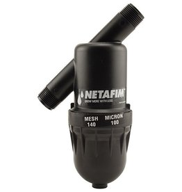Netfim Hydro Flow / Netafim Disc Filter 3/4 in MPT x MPT 140 Mesh 17 GPM Maximum Flow