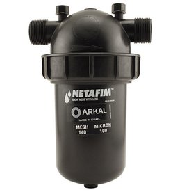 Netfim Hydro Flow / Netafim Disc Filter 1 in MPT x MPT 140 Mesh 22 GPM Maximum Flow
