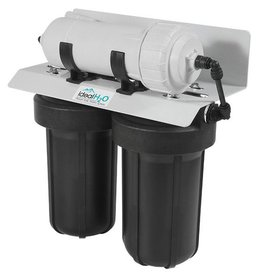 Ideal Ideal H2O Commercial 3 Stage RO System w/ Catalytic Carbon Pre Filter - 600 GPD