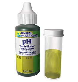 General Hydroponics GH pH Test Kit 1 oz