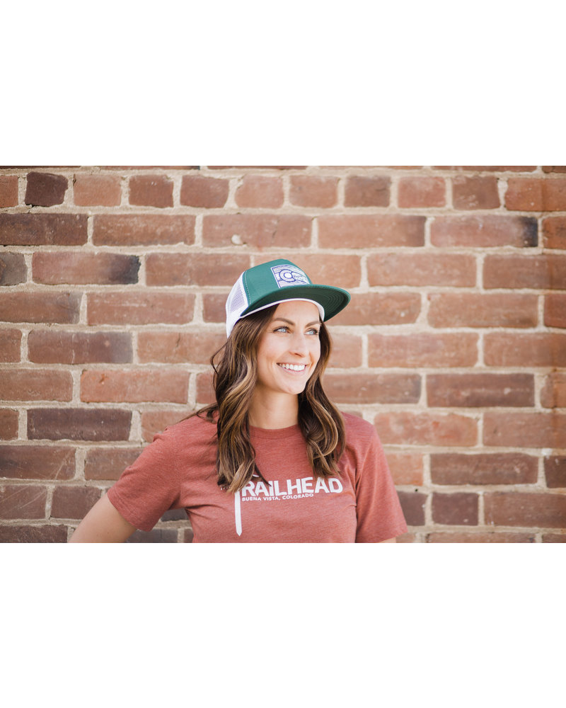 The Trailhead Colorado Line Art Foam Dome Snapback Trucker