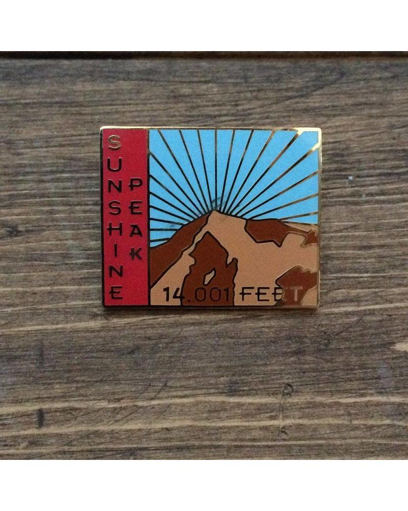 Sunshine Peak Pin