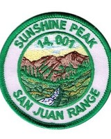 Sunshine Peak Patch