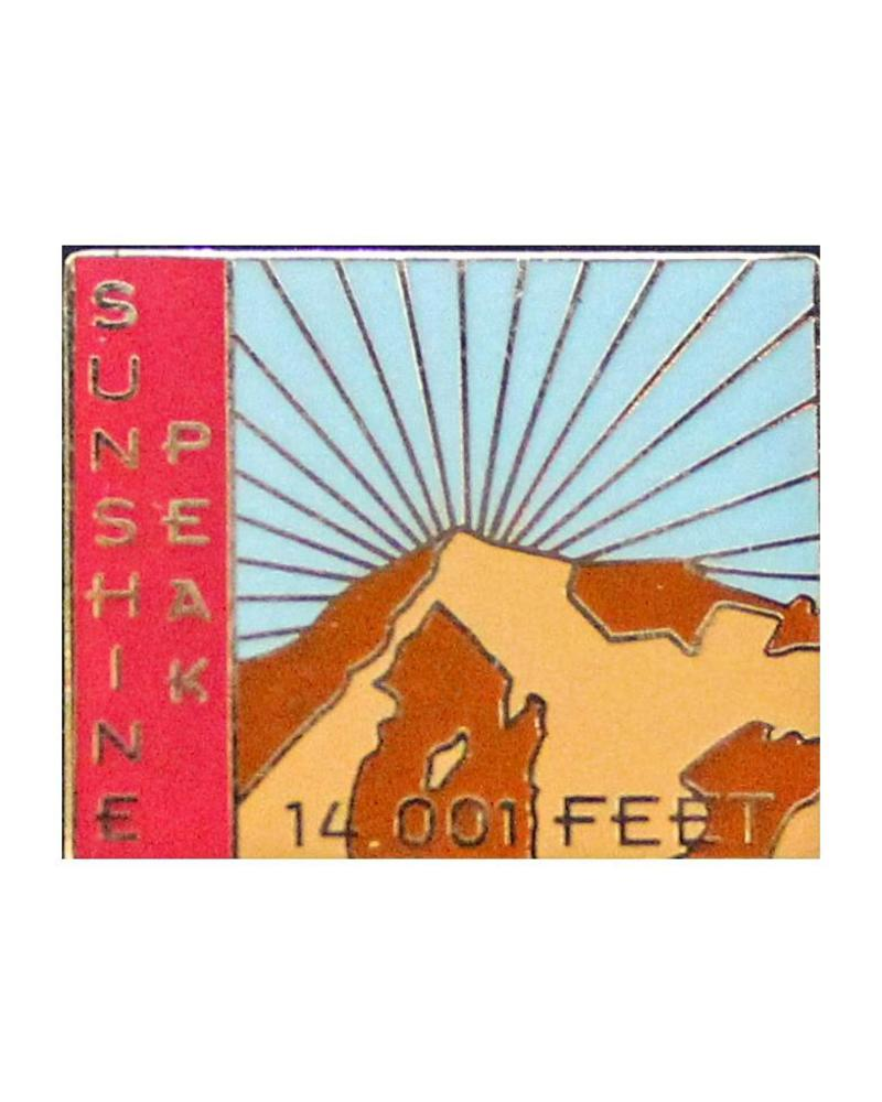 Sunshine Peak Pin