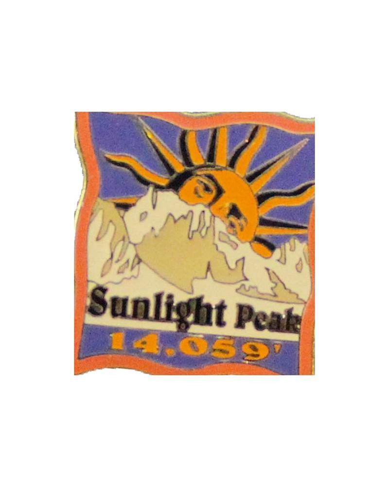Sunlight Peak Pin