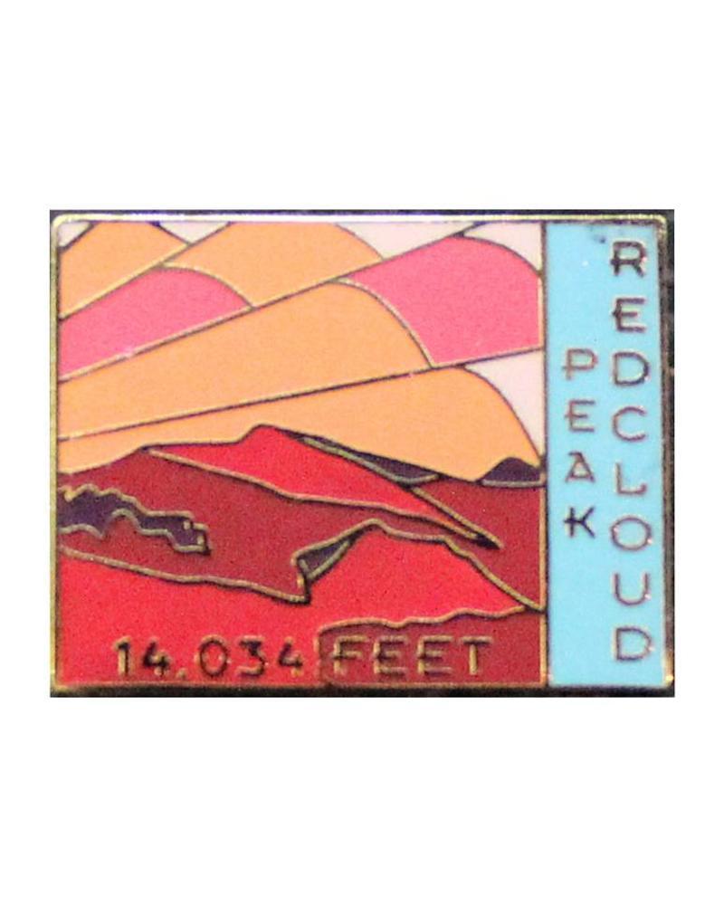 Redcloud Peak Pin