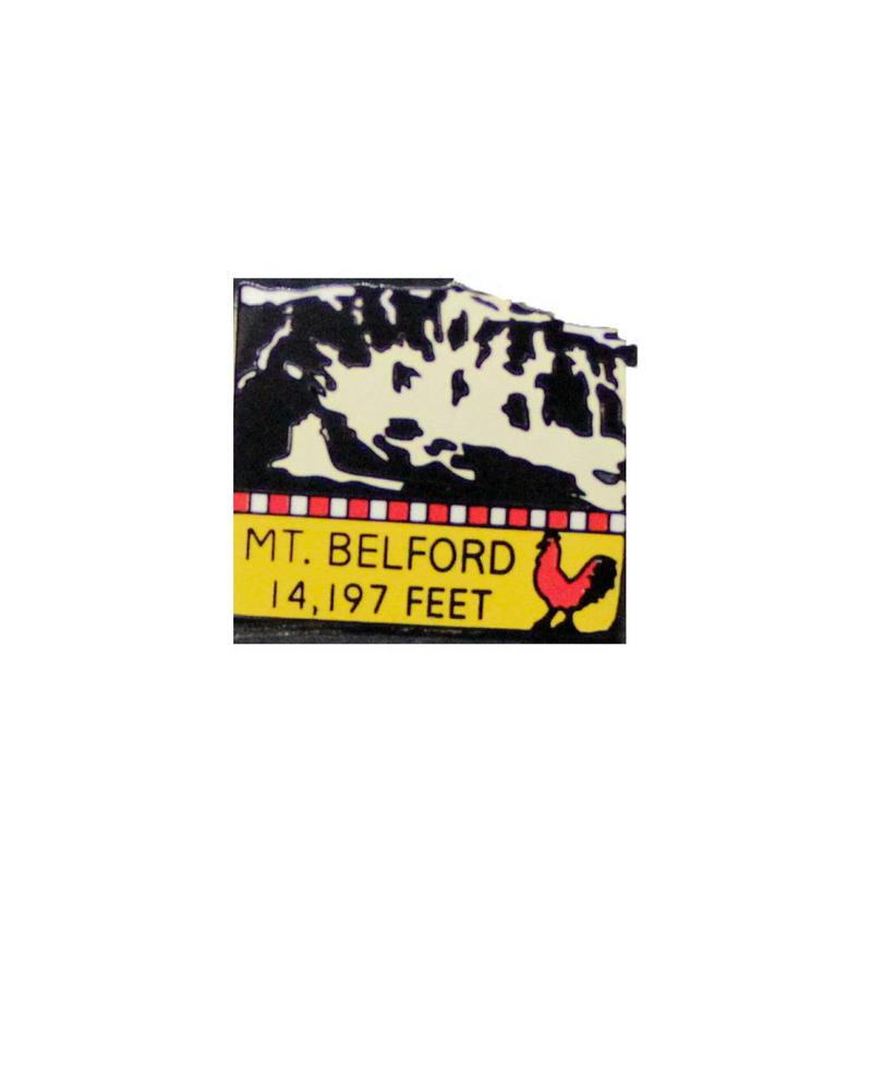 Mount Belford Pin