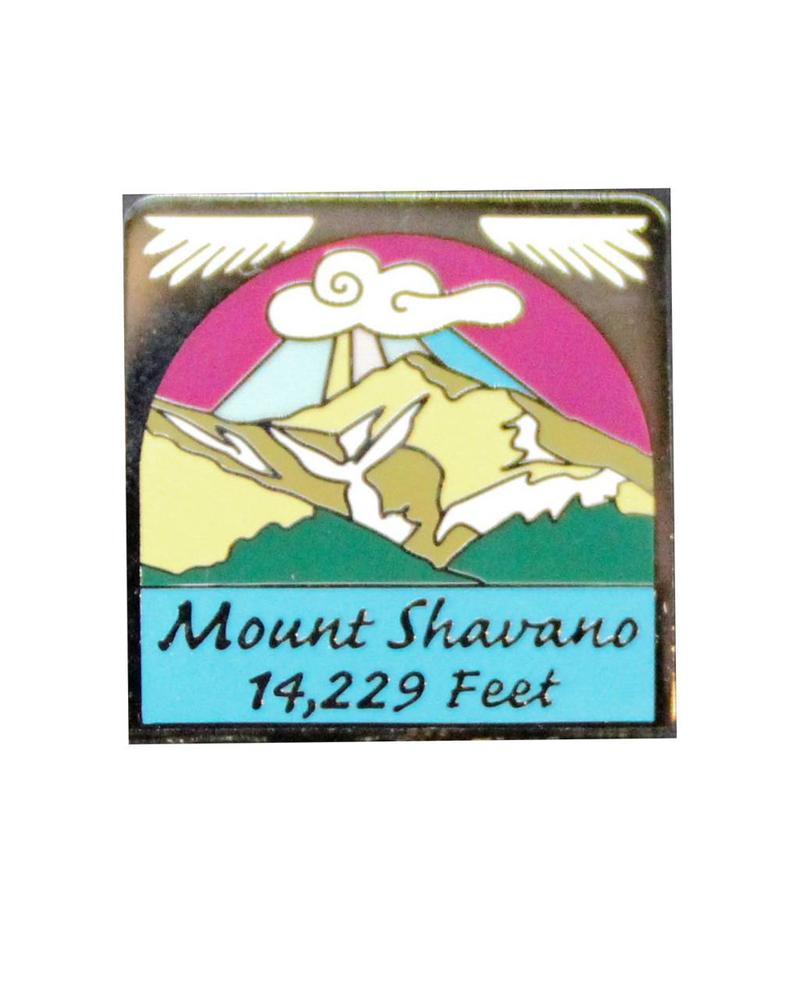 Mount Shavano Pin