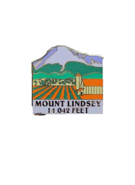 Mount Lindsey Pin