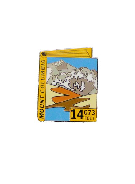 Mount Columbia Pin