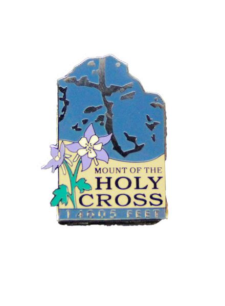 Mount of the Holy Cross Pin