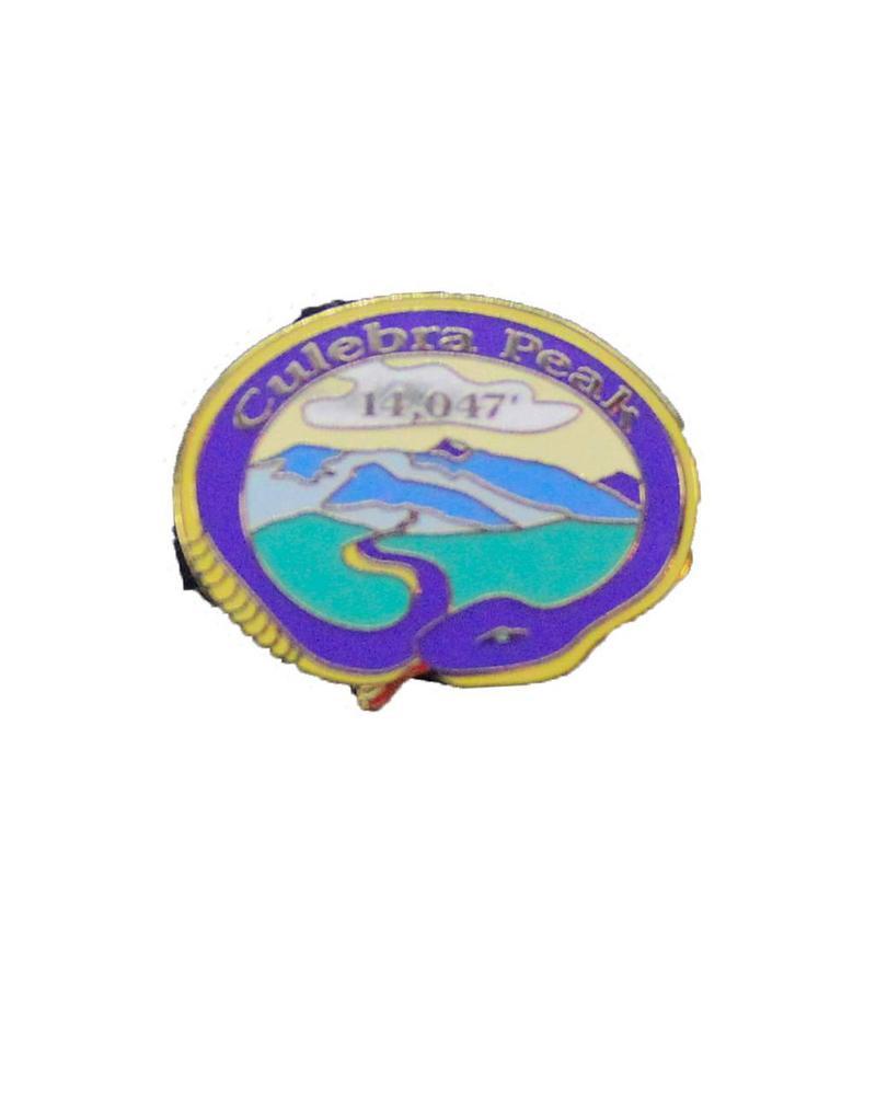 Culebra Peak Pin