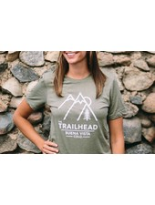 Trailhead Tri-Blend Crew Retro Mountains Tee