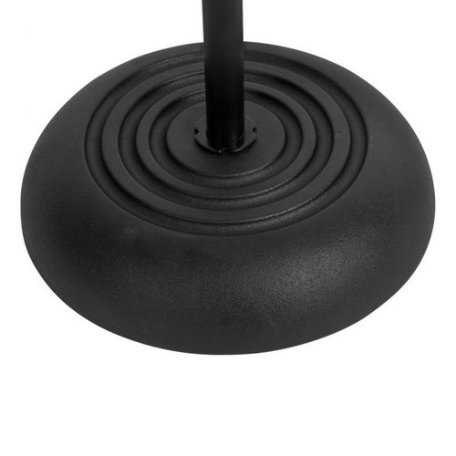 On-Stage Stands Round Base Mic Stand -Black