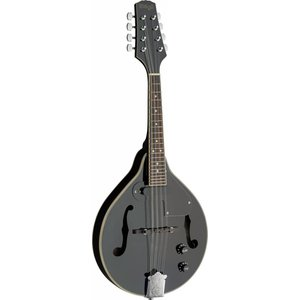 Stagg BLACK BLUEGRASS ACOUSTIC-ELECTRIC MANDOLIN