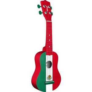 Stagg MEXICO GRAPHIC SERIES SOPRANO UKULELE W/ GIGBAG