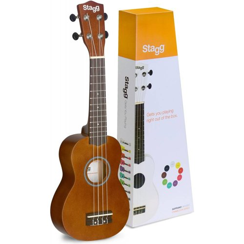 Stagg NATURAL SOPRANO UKULELE  WITH BAG