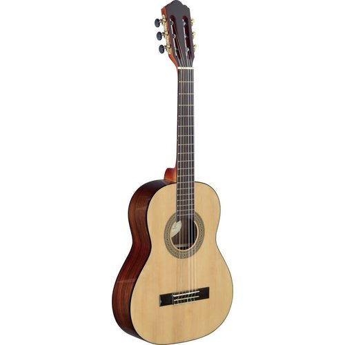 Angel Lopez Cereza series 3/4 classical guitar with solid spruce top