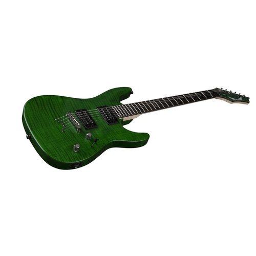 Dean Custom 350 Trans Green