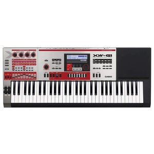 Casio XW-G1 61-Key Digital Synthesizer w/Sampler Looper & Player