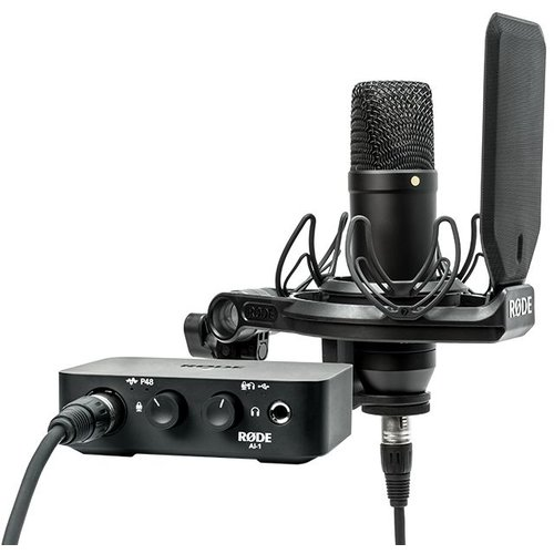 RODE Complete Studio Kit with Audio Interface