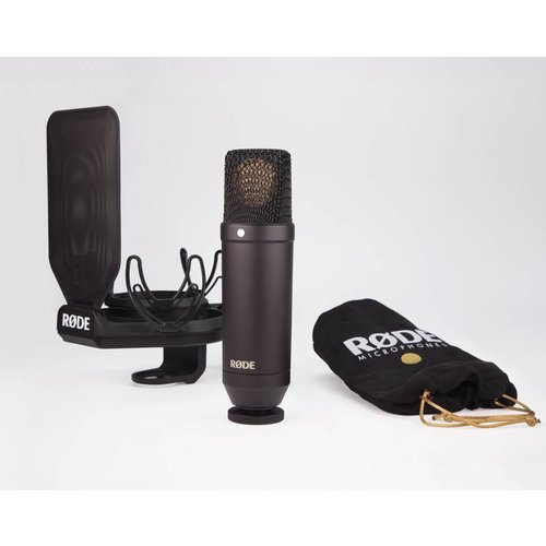 "RODE 1"" Cardioid Condenser Microphone package."