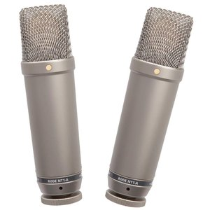 "RODE Pair of acoustically matched 1"" Cardioid Condenser Microphones"