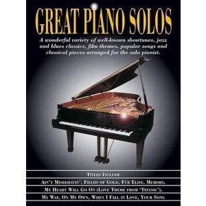Hal Leonard Great piano solos