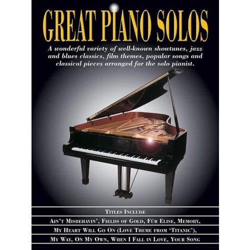 Hal Leonard Great piano solos