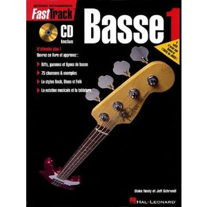 Hal Leonard FastTrack Bass 1 w/ Audio Access (French Edition)