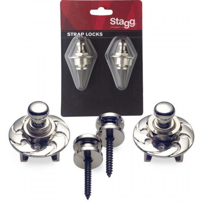 Stagg Stagg SSL1 CR Chrome Strap Locks