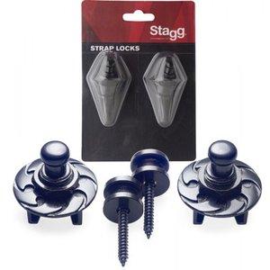 Stagg STRAP LOCKS BLACK