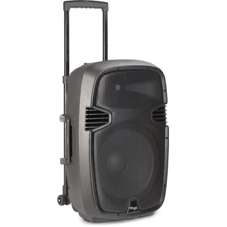 """Stagg 12"""" 160W BATTERY POWERED SPEAKER W/ REVERB AND BLUETOOTH"""