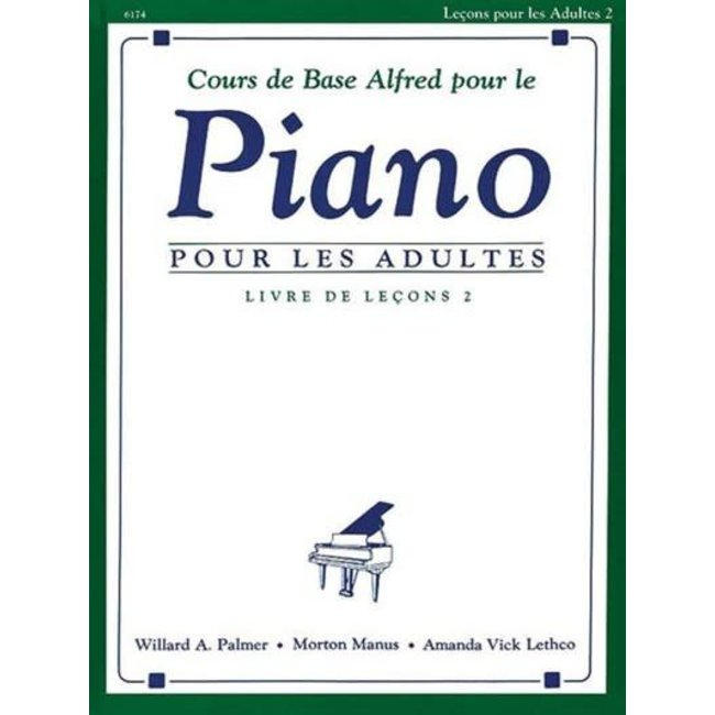 Alfred's Basic Adult Piano Course: French Edition Lesson Book 2