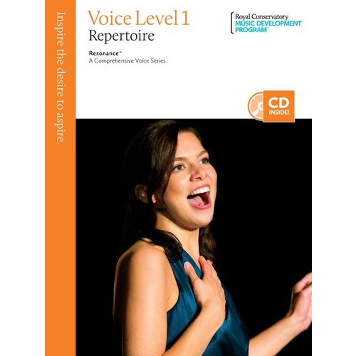 The Royal Conservatory The Royal Conservatory Voice Level 1 Repertoire