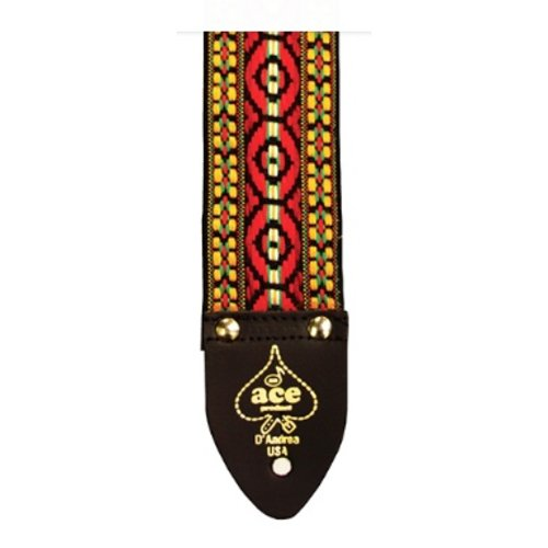 "ACE ACE 4 Bohemian Red 2"" Vintage Reissue Strap"