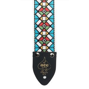 "ACE ACE 3 Stained Glass 2"" Vintage Re-Issue Strap"