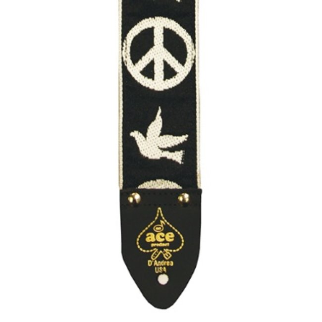 "ACE ACE 6 Peace - Dove 2"" Vintage Re-Issue Strap"