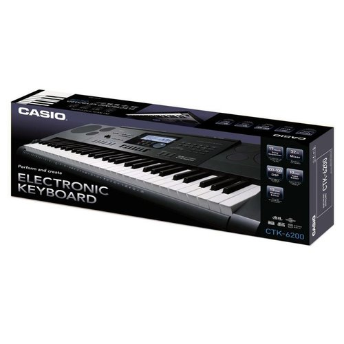 Casio CTK-6200 61-Note (Piano-Style) Touch Response Portable Keyboard