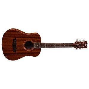 Dean Flight Mahogany Travel Guitar w/Gigbag