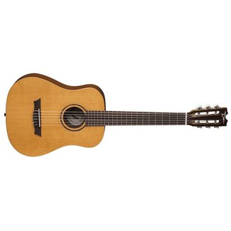 Dean Flight Nylon Spruce Travel Guitar w/Gig
