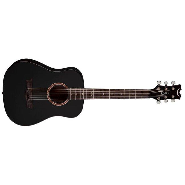 Flight Mahogany Travel Guitar BKS w/Gig