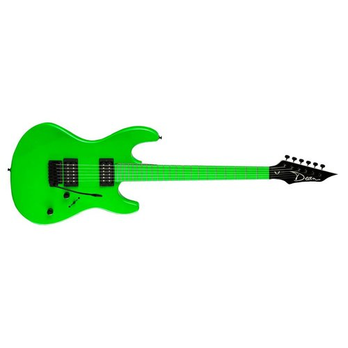 Dean Custom Zone 2 HB Florescent Green