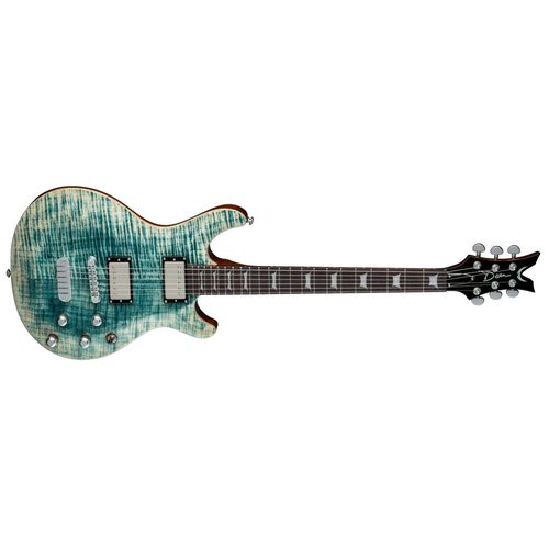 Dean Icon Flame Top Faded Denim