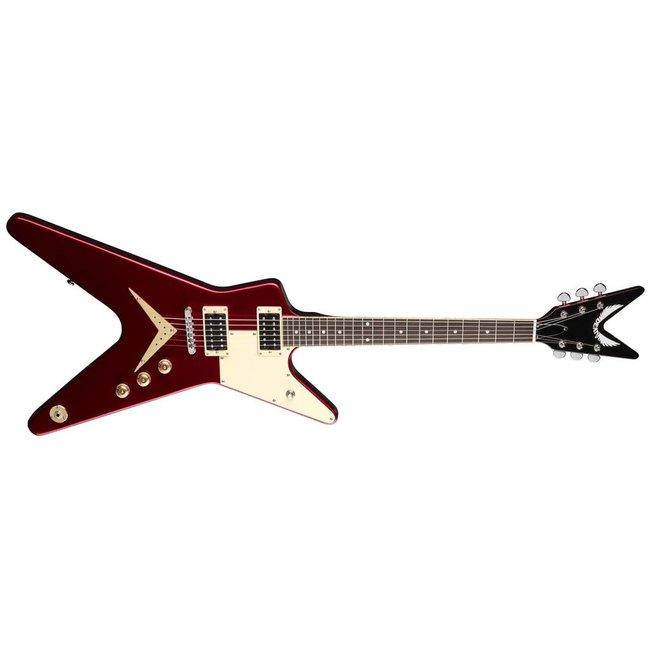 Dean ML 79 Standard w/Half PG Metallic Red