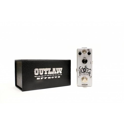 Outlaw Effects LOCK STOCK & BARREL 3 Mode Distortion Pedal