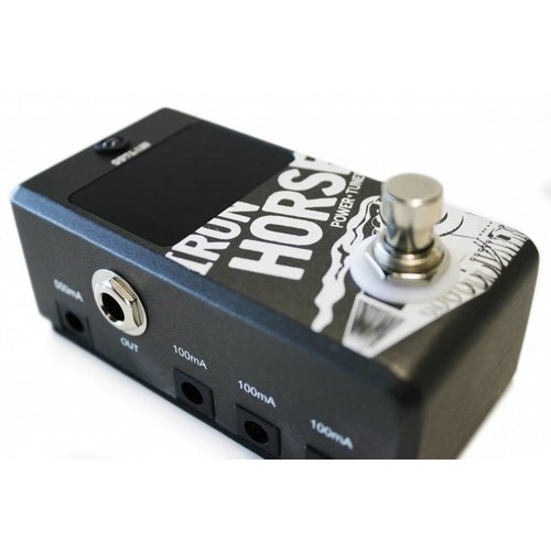 Outlaw Effects IRON HORSE Tuner Pedal & Power Supply