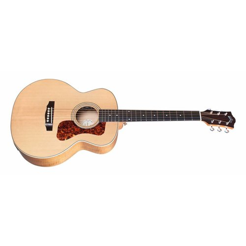 Guild Jumbo Junior Flamed Maple, Westerly Collection Series, Compact Jumbo w/Bag