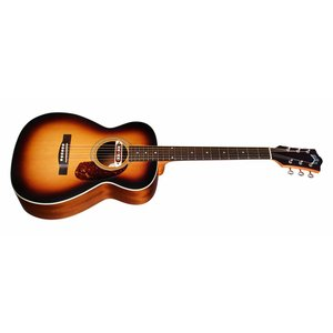 Guild M-240E Troubadour Vintage Sunburst, Westerly Collection Series Concert Style Acoutstic, w/Bag